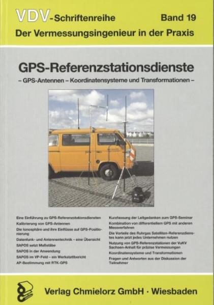 GPS-Referenzstationsdienste - GPS-Antennen - Koordinatensysteme und Transformation - Coverbild