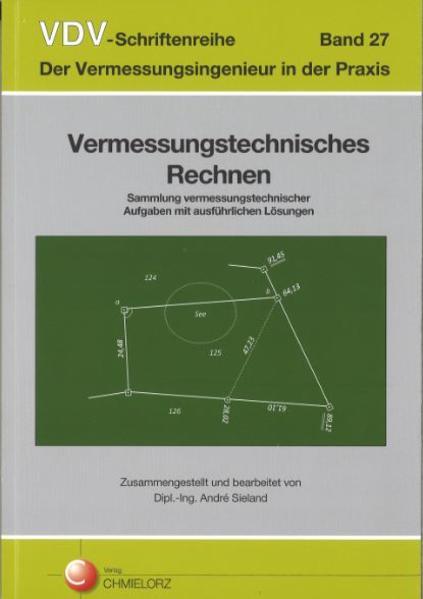 VDV-Schriftenreihe Band 27/Vermessungstechnisches Rechnen - Coverbild