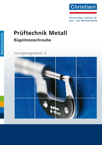 Prüftechnik Metall - Bügelmessschraube - Coverbild