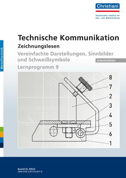 Technische Kommunikation  - Zeichnungslesen - Coverbild