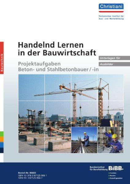 Handelnd Lernen in der Bauwirtschaft - Coverbild