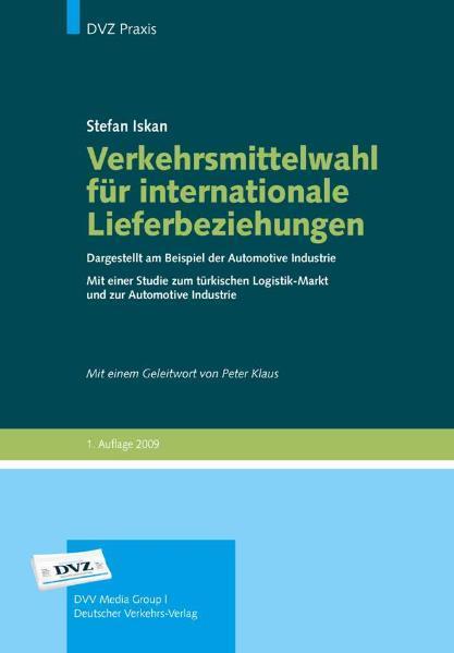Verkehrsmittelwahl für internationale Lieferbeziehungen - Coverbild