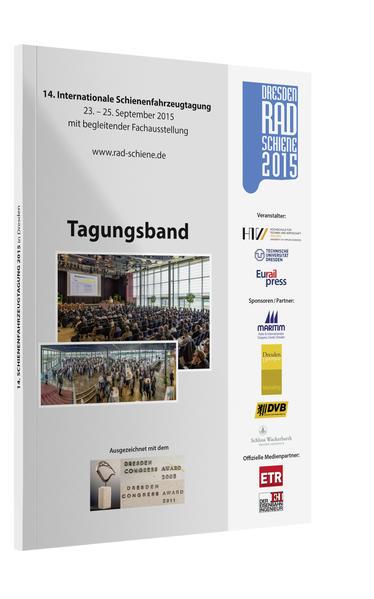 Tagungsband 14. Internationale Schienenfahrzeugtagung Rad Schiene 2014 - Coverbild
