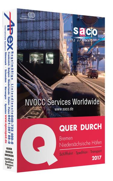 QUER DURCH Bremen / Niedersächsische Häfen 2017 - Coverbild