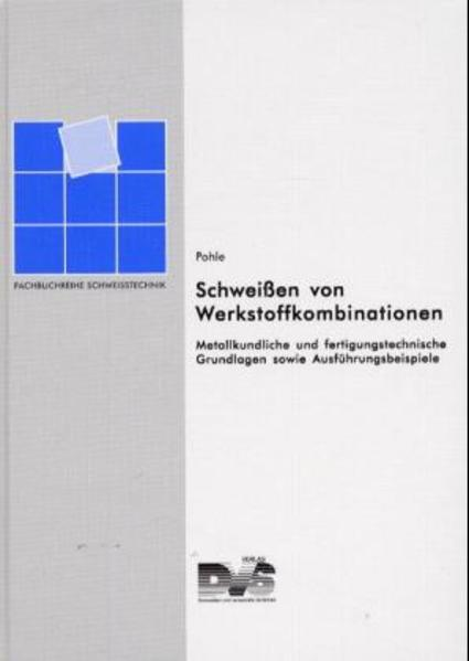 Schweissen von Werkstoffkombinationen - Coverbild