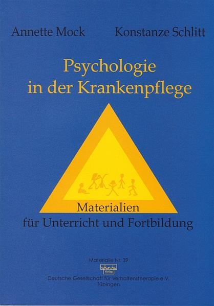 Psychologie in der Krankenpflege - Coverbild