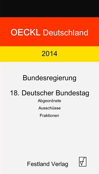 OECKL.  Deutschland 2015 - Bundesregierung, Bundestag - Coverbild