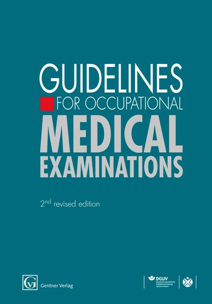 Guidelines for Occupational Medical Examinations - Coverbild