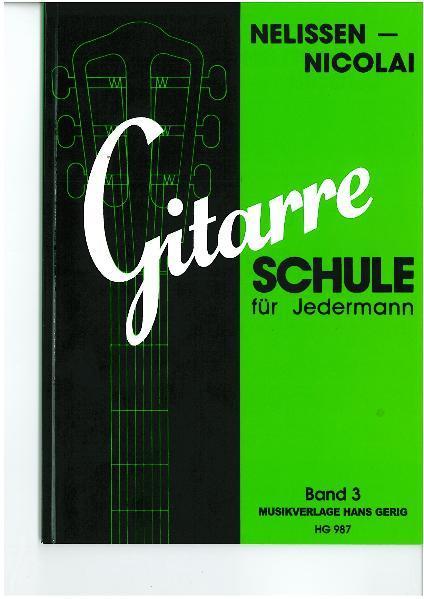 Gitarre - Schule für Jedermann / Gitarre - Schule für Jedermann - Band 3 - Coverbild