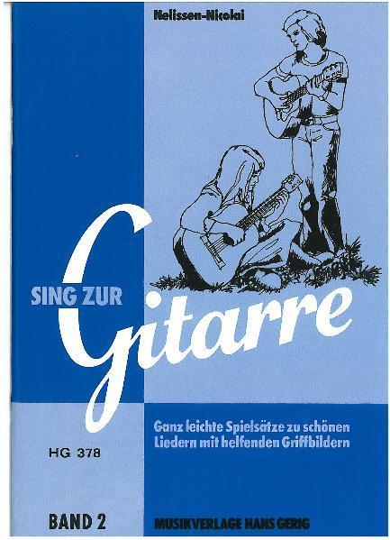 Sing zur Gitarre, Band 2 - Coverbild