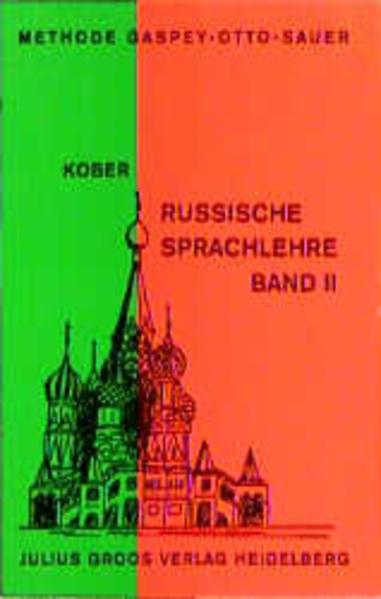 Russische Sprachlehre / Russische Sprachlehre - Coverbild