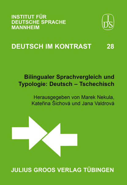 Bilingualer Sprachvergleich und Typologie: Deutsch – Tschechisch - Coverbild