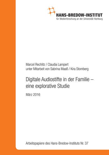 Digitale Audiostifte in der Familie – eine explorative Studie - Coverbild