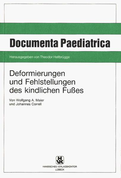 Deformierungen und Fehlstellungen des kindlichen Fusses - Coverbild