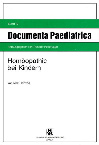 Homöopathie bei Kindern - Coverbild