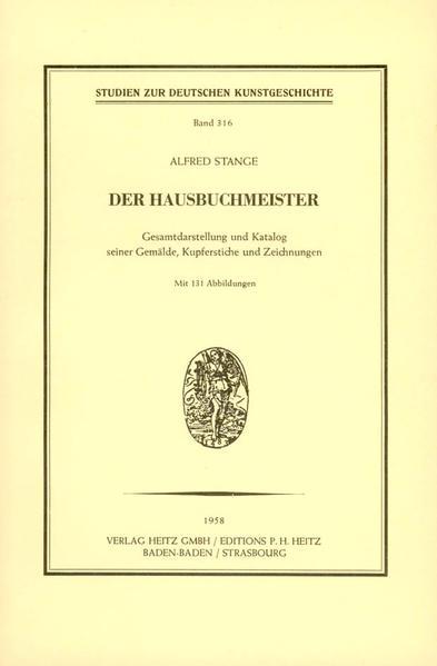 Der Hausbuchmeister - Coverbild