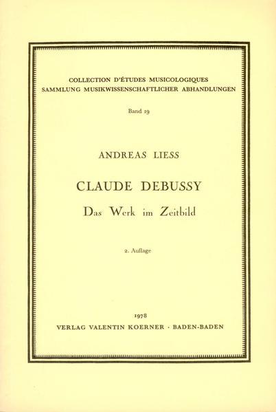 Claude Debussy - Coverbild