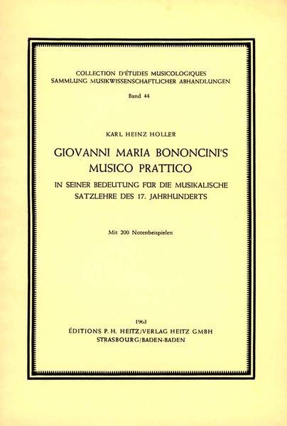 Giovanni Maria Bononcini's