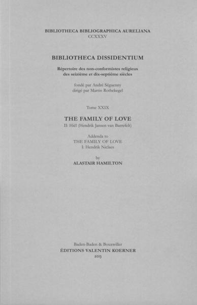 Bibliotheca Dissidentium XXIX - Coverbild