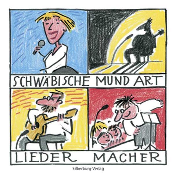 Schwäbische Mundart-Liedermacher - CD - Coverbild