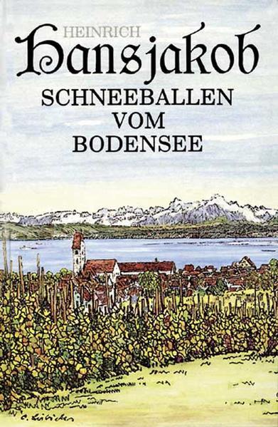 Schneeballen vom Bodensee - Coverbild