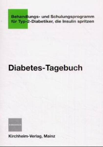Diabetes-Tagebuch - Coverbild