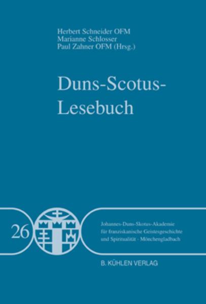Duns-Scotus-Lesebuch - Band 26 - Coverbild