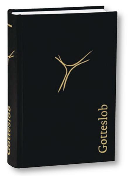 Gotteslob (Schmuckausgabe Cryluxe schwarz mit Goldprägung) - Coverbild