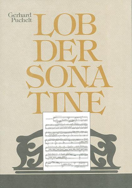 Lob der Sonatine - Coverbild