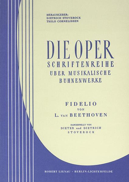 L. van Beethoven, Fidelio - Coverbild