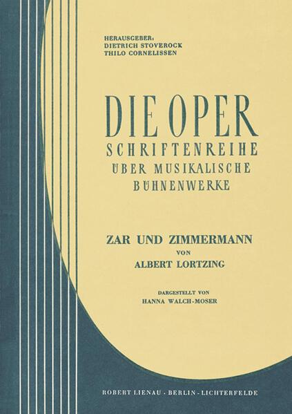 Albert Lortzing, Zar und Zimmermann - Coverbild