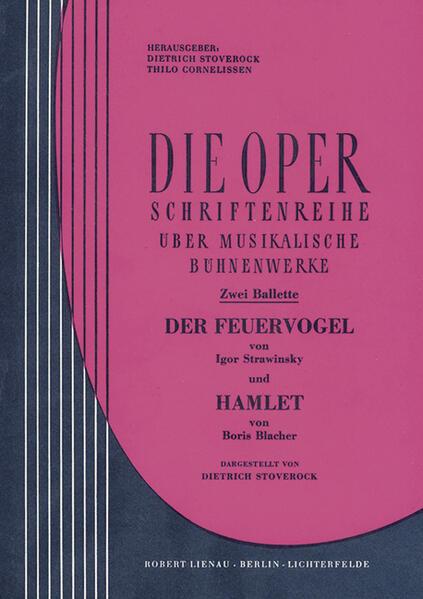 Zwei Ballette: I. Strawinsky, Der Feuervogel und B. Blacher, Hamlet - Coverbild