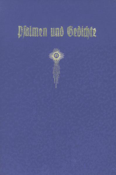Psalmen und Gedichte - Coverbild