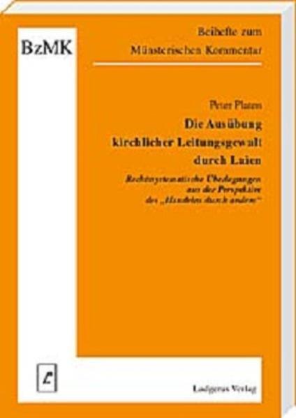 Die Ausübung kirchlicher Leitungsgewalt durch Laien - Coverbild
