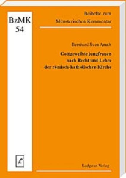 Gottgeweihte Jungfrauen nach Recht und Lehre der römisch-katholischen Kirche - Coverbild