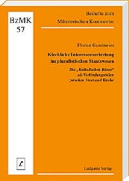 Kirchliche Interessenvertretung im pluralistischen Staatswesen - Coverbild