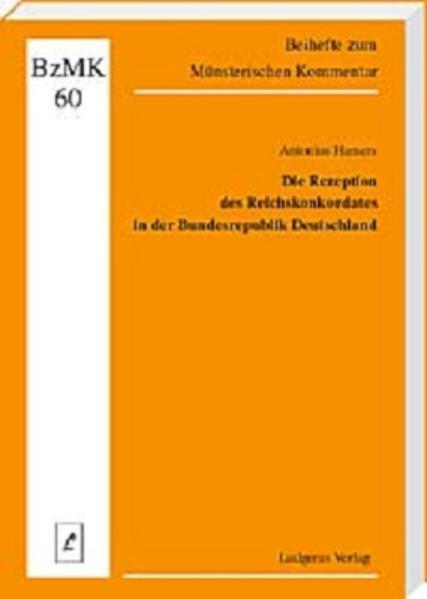 Die Rezeption des Reichskonkordates in der Bundesrepublik Deutschland - Coverbild