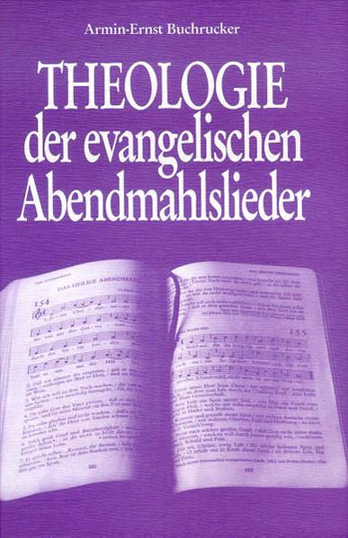 Theologie der evangelischen Abendmahlslieder - Coverbild