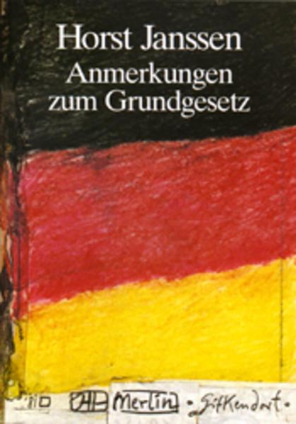 Anmerkungen zum Grundgesetz - Coverbild
