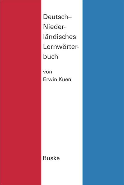 Deutsch-Niederländisches Lernwörterbuch - Coverbild