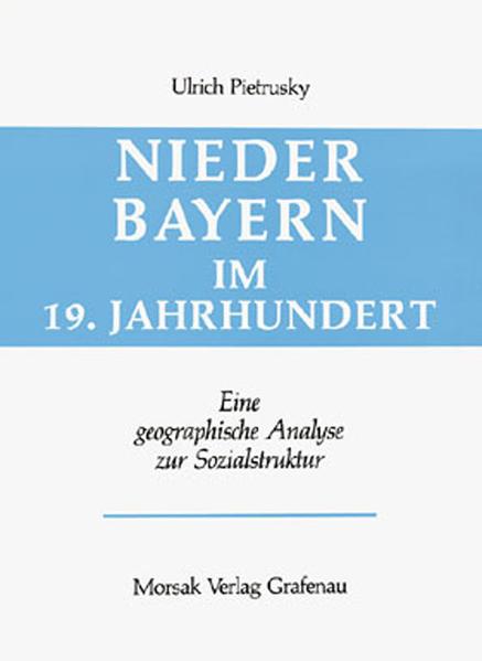 Niederbayern im 19. Jahrhundert - Coverbild