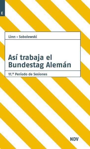 Asi trabaja el Bundestag Alemán - Coverbild