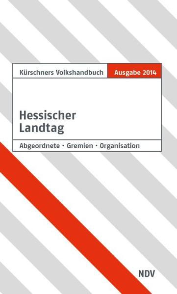 Kürschners Handbuch Hessischer Landtag - Coverbild