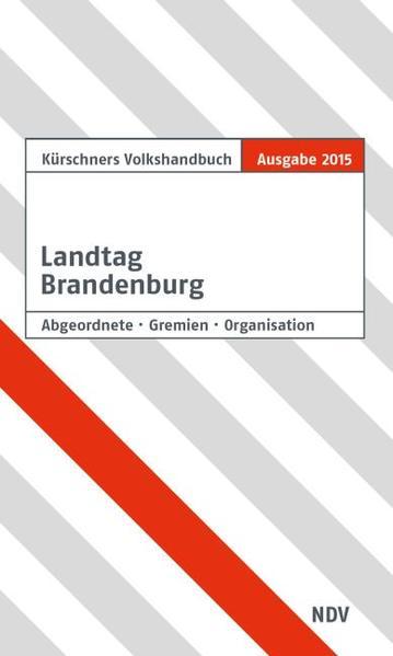 Kürschners Volkshandbuch Landtag Brandenburg - Coverbild