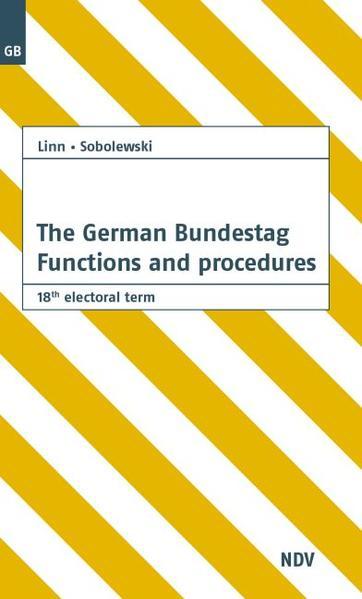 The German Bundestag - Coverbild