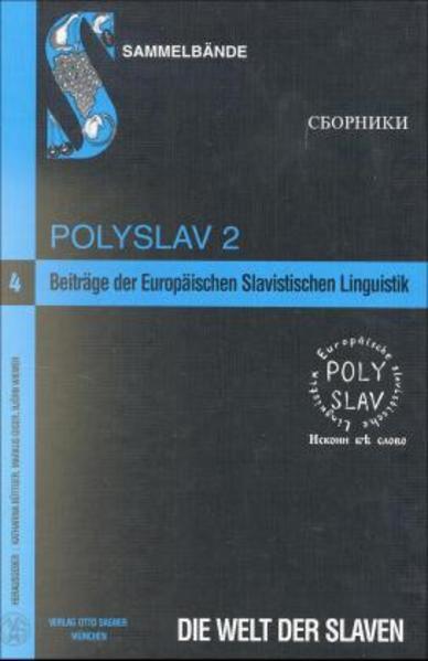 Beiträge der Europäischen Slavistischen Linguistik (Polyslav) - Coverbild