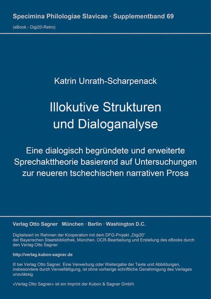 Illokutive Strukturen und Dialoganalyse - Coverbild