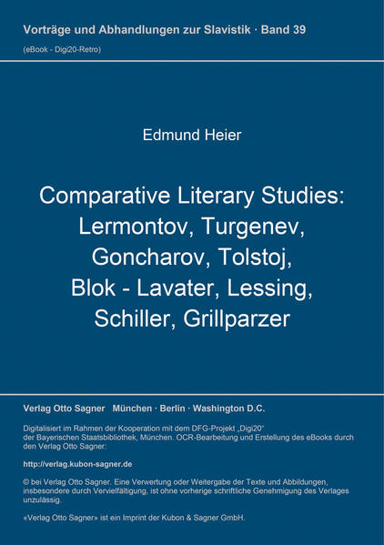 Comparative Literary Studies - Coverbild
