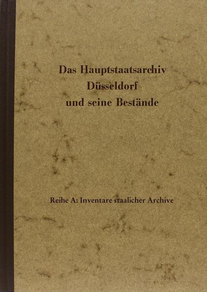 Archive des nichtstaatlichen Bereichs, Handschriften - Coverbild
