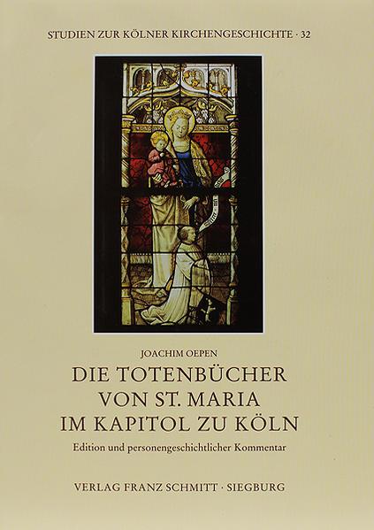 Die Totenbücher von St. Maria im Kapitol zu Köln - Coverbild